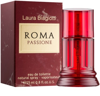 Laura Biagiotti Roma Passione Eau de Toilette Für Damen 25 ml