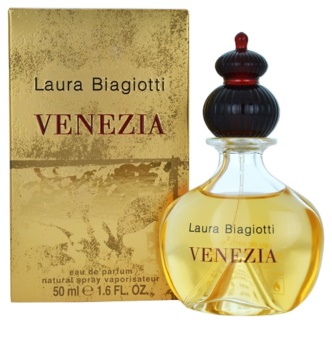 Laura Biagiotti Venezia eau de parfum para mulheres 50 ml