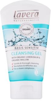 Lavera Basis Sensitiv čistiaci pleťový gél