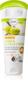 Lavera Olive & Camomile výživný krém na ruky a nechty 2 v 1