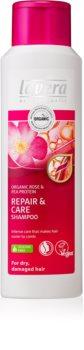 Lavera Repair & Care negovalni šampon za suhe in poškodovane lase