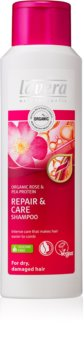 Lavera Repair & Care șampon îngrijire pentru par uscat si deteriorat