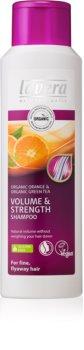 Lavera Volume & Strength shampoing pour un volume maximal