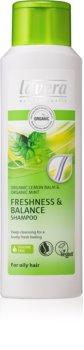 Lavera Balance revitalizacijski šampon za mastne lase