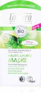 Lavera Bio Mint globoko čistilna maska