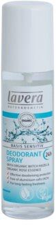 Lavera Basis Sensitiv дезодорант у формі спрею