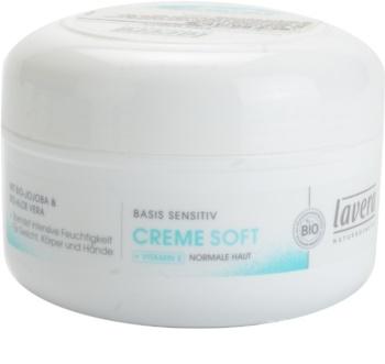 Lavera Basis Sensitiv hydratační krém pro normální pokožku