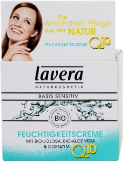 Lavera Basis Sensitiv Q10 krem nawilżający przeciw zmarszczkom