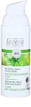 Lavera Faces Bio Mint fluido hidratante para pele oleosa