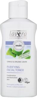 Lavera Faces Cleansing lotion tonique purifiante pour peaux grasses et mixtes