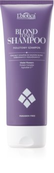 L'biotica Professional Therapy purple toning shampoo for Blonde Hair