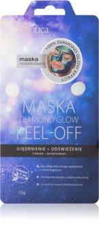 L'biotica Masks Diamond Glow peelingová pleťová maska se zpevňujícím účinkem