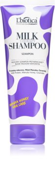 L'biotica Professional Therapy Milk Shampoo for Shiny and Soft Hair
