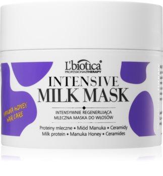 L'biotica Professional Therapy Milk maska za sijaj in mehkobo las