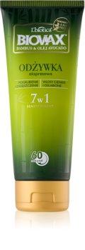 L'biotica Biovax Bamboo & Avocado Oil expresný regeneračný kondicionér pre poškodené vlasy