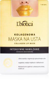L'biotica Masks kolagenová maska na pery