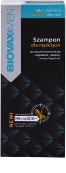 L'biotica Biovax Men stärkendes Shampoo für das Wachstum der Haare und die Stärkung von den Wurzeln heraus
