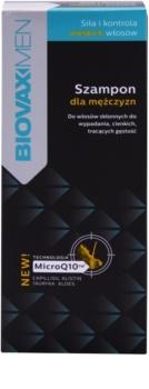 L'biotica Biovax Men szampon wzmacniający na porost włosów i wzmocnienie cebulek