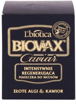 L'biotica Biovax Glamour Caviar výživná regenerační maska s kaviárem