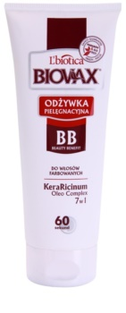 L'biotica Biovax Colored Hair condicionador de proteção para cabelo pintado
