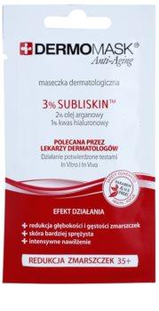 L'biotica DermoMask Anti-Aging máscara facial com efeito antirrugas 35+