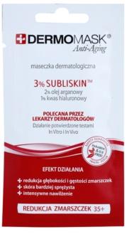 L'biotica DermoMask Anti-Aging pleťová maska s protivráskovým účinkem 35+