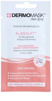 L'biotica DermoMask Anti-Aging máscara para restaurar a densidade da pele 40+