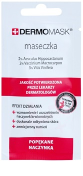 L'biotica DermoMask mascarilla facial para combatir las venas agrietadas y dilatadas