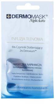 L'biotica DermoMask Night Active masque oxygénant