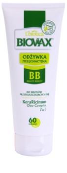 L'biotica Biovax Dull Hair feuchtigkeitsspendender Conditioner für fettiges Haar und Kopfhaut
