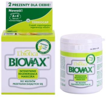 L'biotica Biovax Dull Hair megújító maszk zsíros hajra és fejbőrre