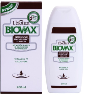 L'biotica Biovax Falling Hair erősítő sampon hajhullás ellen