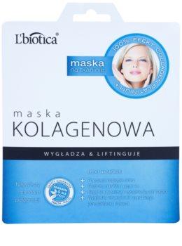 L'biotica Masks Collagen Platinium maseczka płócienna z kolagenem