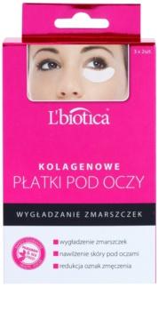 L'biotica Masks mascarilla para contorno de ojos con colágeno con efecto antiarrugas