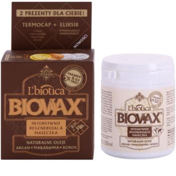 L'biotica Biovax Natural Oil maseczka rewitalizująca dla doskonałego wyglądu włosów
