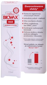 L'biotica Biovax Silk Herstellende Serum  voor Versterking en Glans van Haar