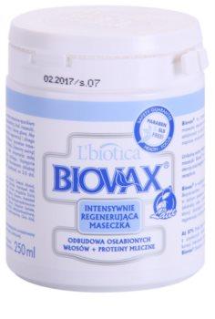 L'biotica Biovax Weak Hair posilujúca maska pre oslabené vlasy