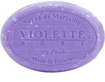 Le Chatelard 1802 Violet & Blackberry okrągłe francuskie mydło naturalne