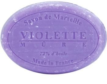 Le Chatelard 1802 Violet & Blackberry Round Natural French Soap