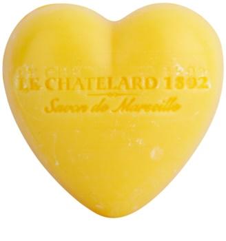 Le Chatelard 1802 Tangerine & Lime jabón en forma de corazón
