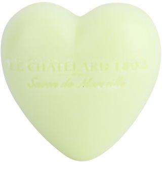 Le Chatelard 1802 Verbena & Lemon mýdlo ve tvaru srdce