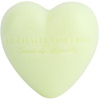 Le Chatelard 1802 Verbena & Lemon sapun in forma de inima
