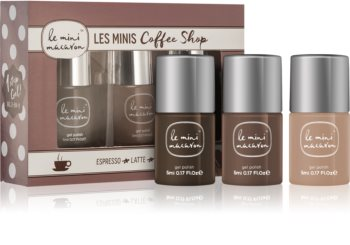 Le Mini Macaron Les Minis Coffee Shop kosmetická sada III. (na nehty) pro ženy