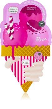 Le Mini Macaron Rose hydratační maska na nehty
