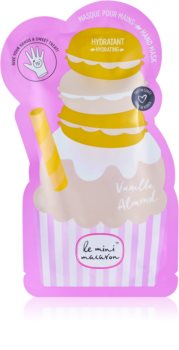 Le Mini Macaron Vanilla Almond maschera idratante mani
