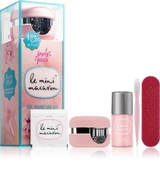 Le Mini Macaron Gel Manicure Kit Fairy Floss coffret cosmétique VIII. (ongles) pour femme