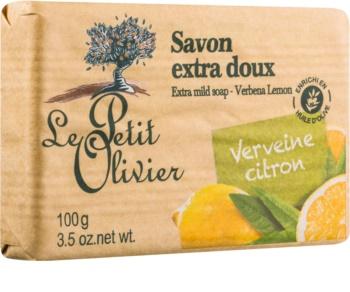 Le Petit Olivier Verbena & Lemon extra jemné mýdlo
