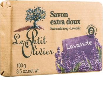 Le Petit Olivier Lavender extra jemné mydlo