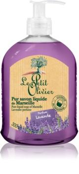Le Petit Olivier Lavender sapone liquido