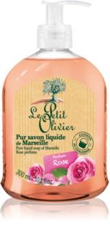 Le Petit Olivier Rose tekuté mydlo
